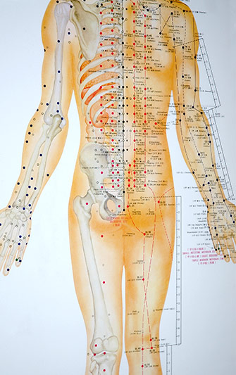 Eastern Healing Acupuncture Chart